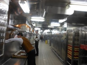 Caribbean Princess Galley