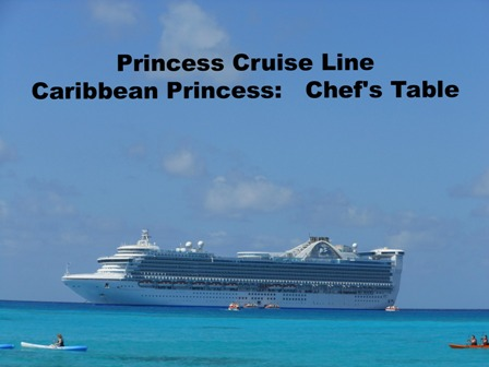 Caribbean Princess at Princess Cays