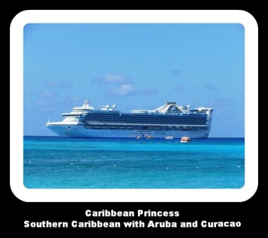 Caribbean Princess at Princess Cays pin