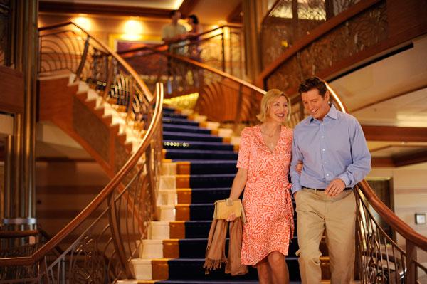 Disney Cruise Line - Disney Dream Lobby