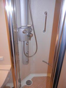 Aqua class shower