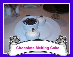 Chocolate melting cake
