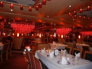 Crimson Dining Room