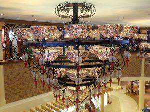 Beautiful chandelier Cucina del Capitano
