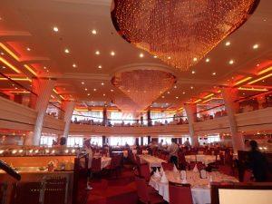 Blush dining room