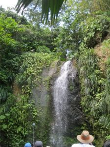 The Toraille Waterfall