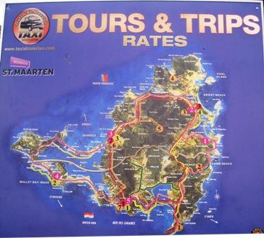 St Maarten Taxi Zones