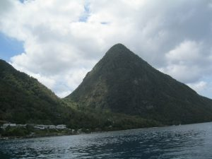 Piton at St Lucia