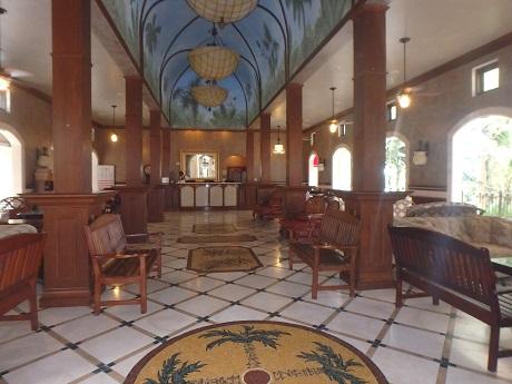 Mediterranean Village concierge lobby