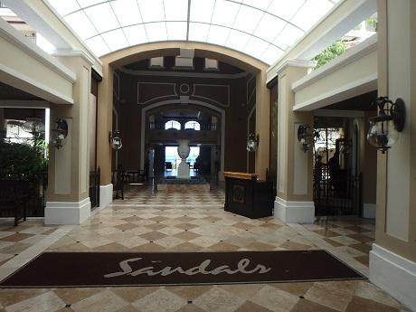 Sandals entrance