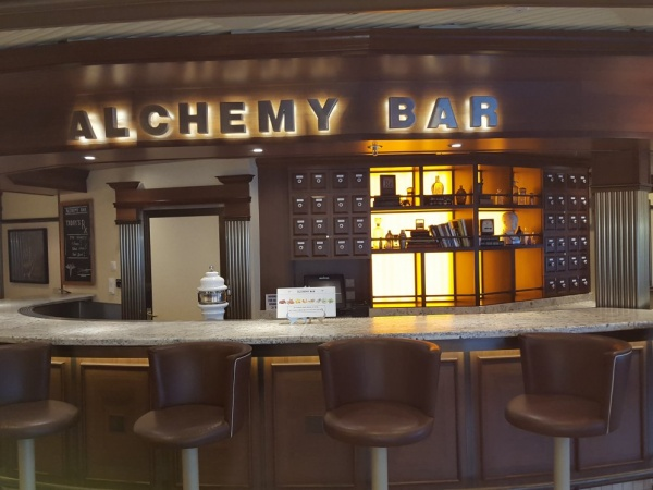 Alchemy Bar, Deck 2