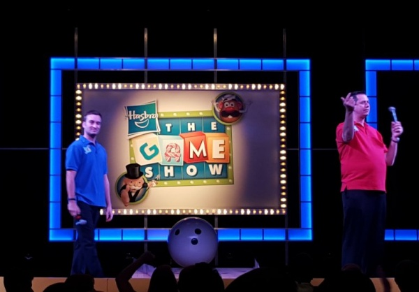Family Fun show featuring cruise guests as contestants competing for prizes