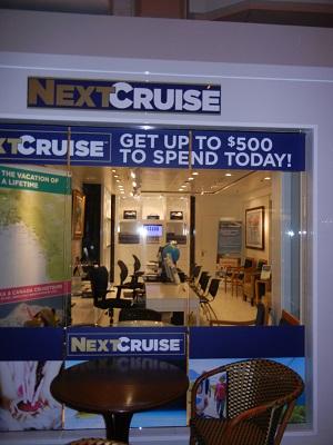 Next Cruise desk