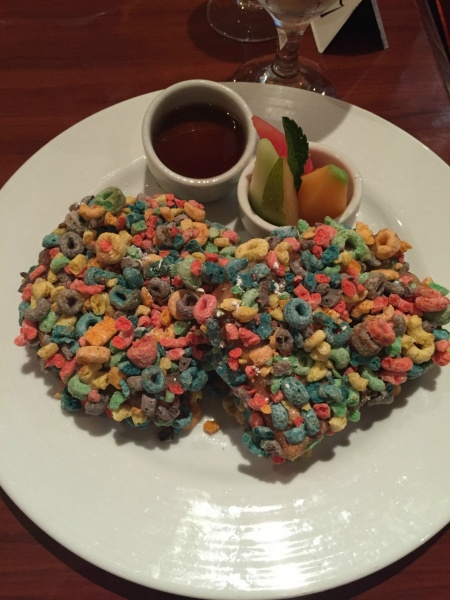 Froot Loop French Toast