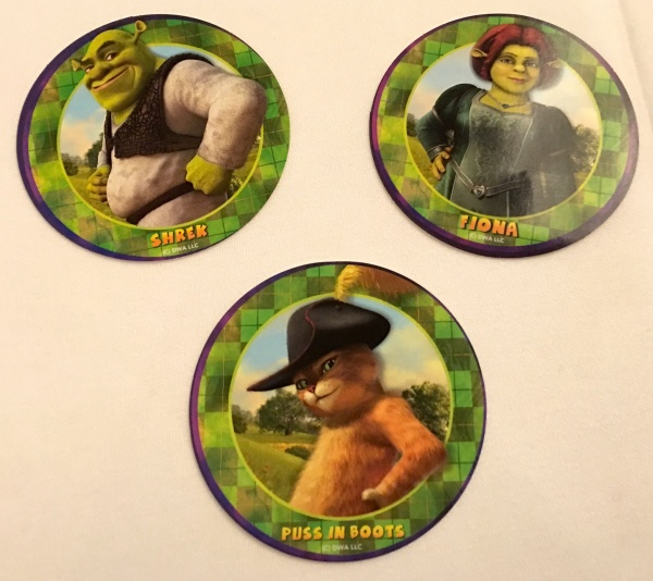 Character Stickers from DreamWorks Rise & Dine Character Dining on Royal Caribbean Oasis of the Seas