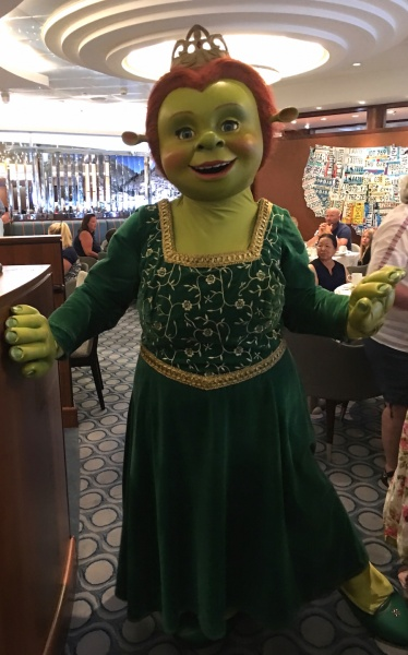 Princess Fiona - DreamWorks Rise & Dine Character Dining - Royal Caribbean Oasis of the Seas