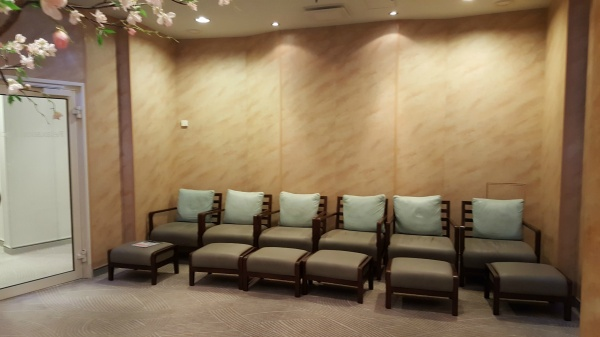 Seating in the Relaxation Room