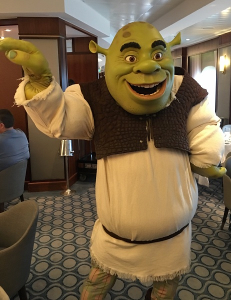 Shrek - DreamWorks Rise & Dine Character Dining - Royal Caribbean Oasis of the Seas