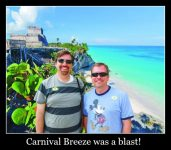 Carnival Breeze was a blast!