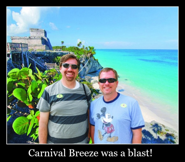 Carnival Breeze was a blast!