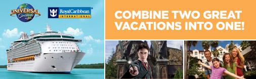 Royal Caribbean International & Universal Orlando Resort Vacations