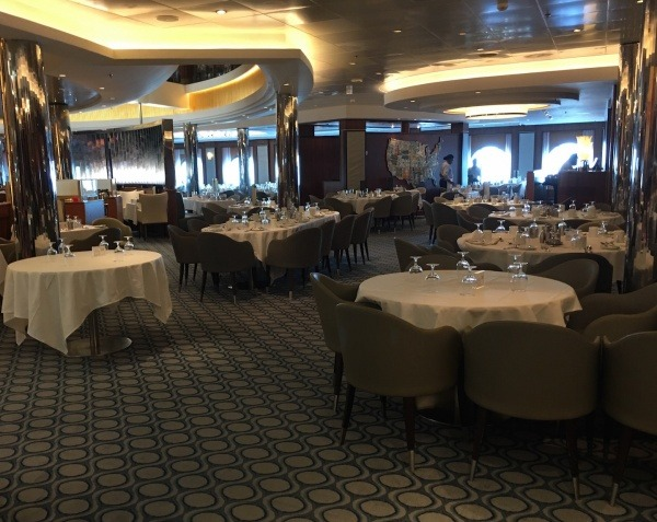 Inside the American Icon Grill on Royal Caribbean Oasis of the Seas