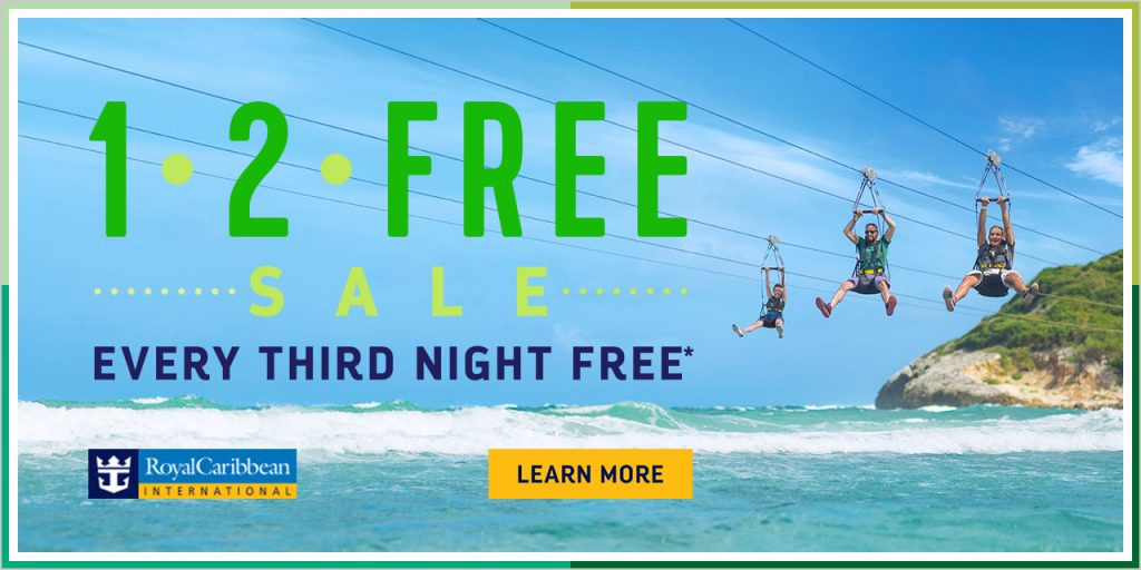 Royal Caribbean Cruise 1•2•FREE Offer discount