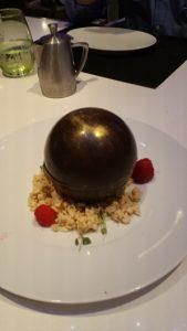 Chocolate Dessert Presentation