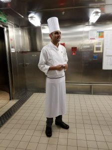 Carnival Magic Sous Chef, Santosh.