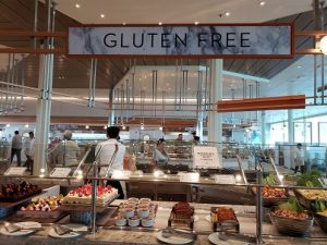 Oceanview Cafe Gluten Free Station