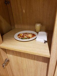 Room service box
