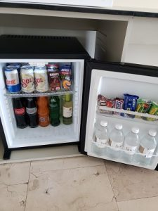 Stocked mini-bar